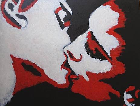 Lovers - Kiss 8 by Carmen Tyrrell