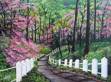 Lovers' Trail by Gloria E Barreto-Rodriguez