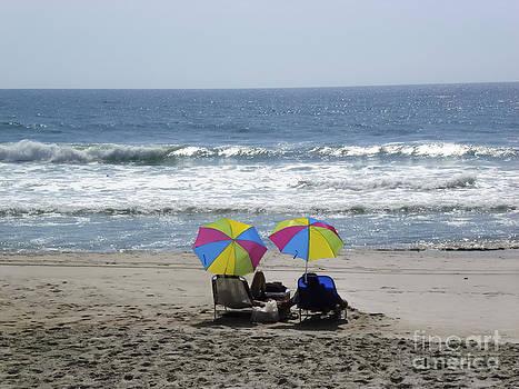 Lovers Under Umbrellas by Crissy Anderson