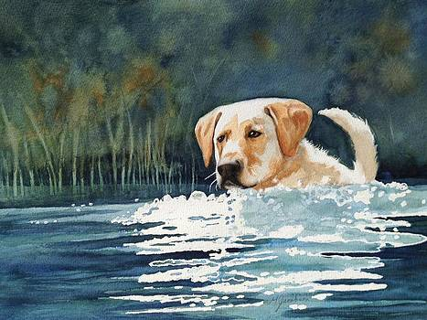 Loves the Water by Marilyn Jacobson