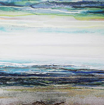 Low newton beach Rhythms and  textures III by Mike   Bell