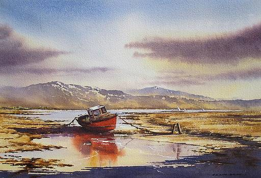 Low Tide At Bantry by Roland Byrne