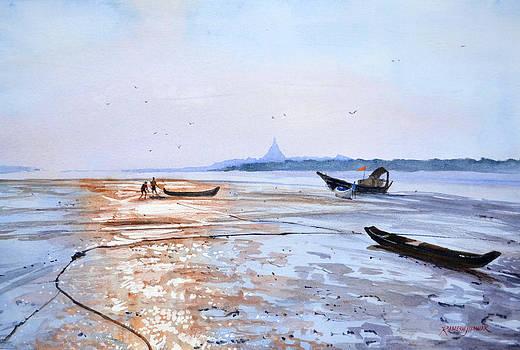 Low Tide at Gorai by Ramesh Jhawar