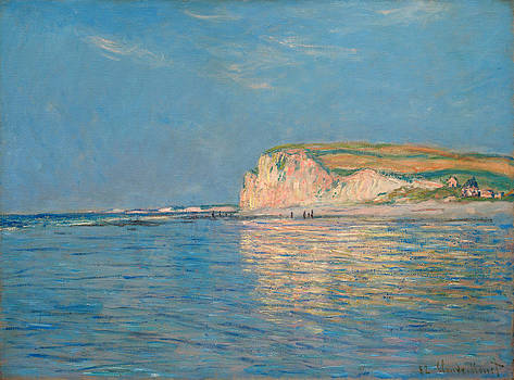 Low Tide at Pourville by Claude Monet