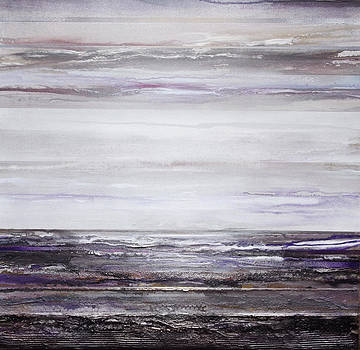 Low Tide Hauxley Haven Rhythms and Textures Purple by Mike   Bell