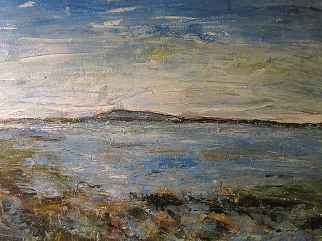 Low tide -Howth from Clontarf by Maria Chibacu