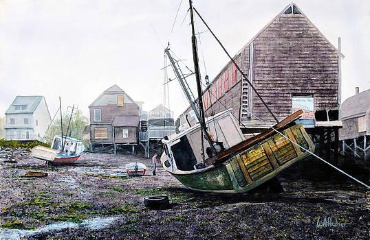 Low Tide in Lubec by Bill Hudson