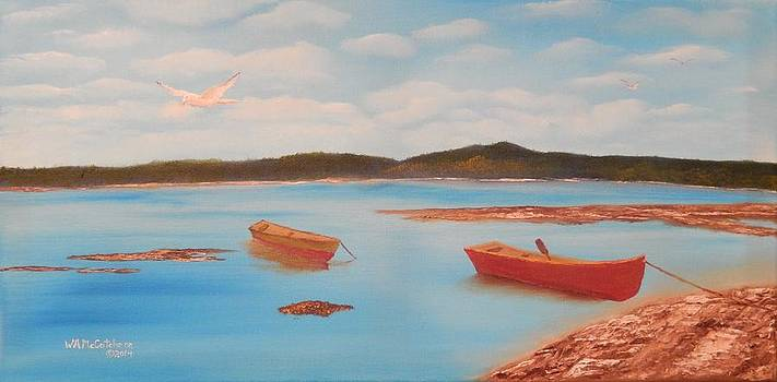 Low Tide in the Harbor by William McCutcheon