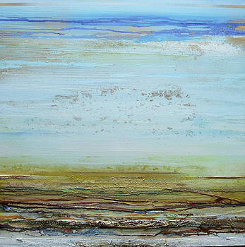 Low Tide Rhythms Textures and Driftwood 2 by Mike   Bell