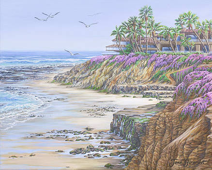 Jane Girardot - Low Tide Solana Beach