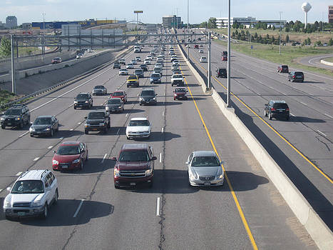 Low Traffic In Denver by Tammy Sutherland