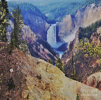 Lower Falls by Kathleen Struckle