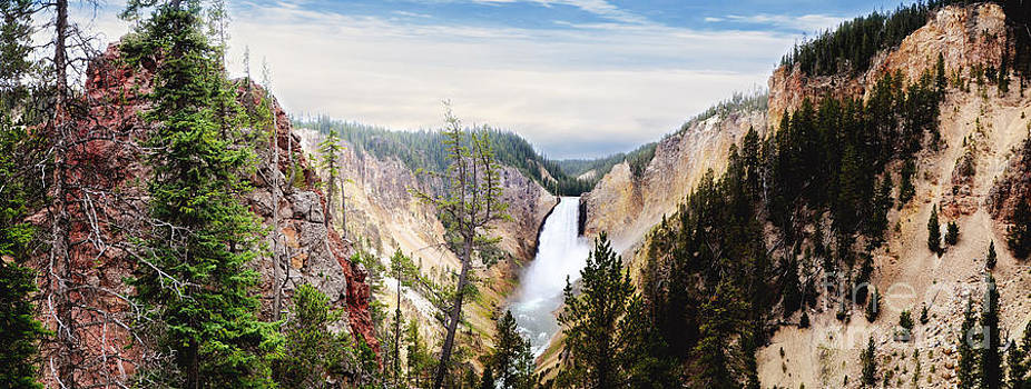 Rachel Barrett - Lower Falls of Yellowstone