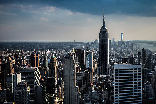 Chris McKenna - Lower Manhattan featuring The Empire State Building