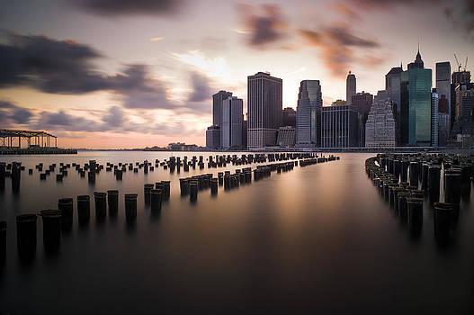 Lower Manhattan From Brooklyn by Chris Halford