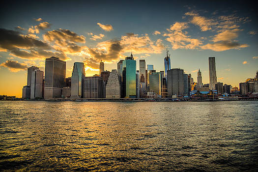 Chris McKenna - Lower Manhattan Sunset