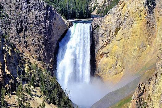 Lower Waterfall by Bill Hosford