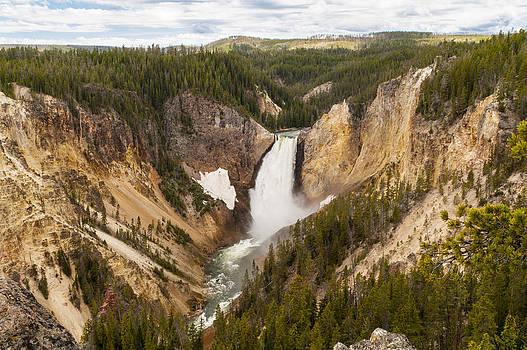 Brian Harig - Lower Yellowstone Canyon Falls