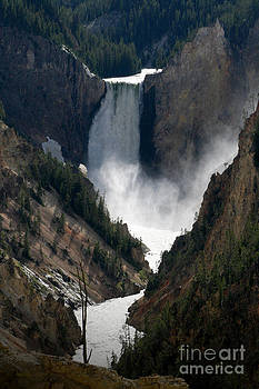Lower Yellowstone Falls 02 by E B Schmidt