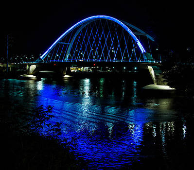 Lowry Bridge Blue by Christopher Broste