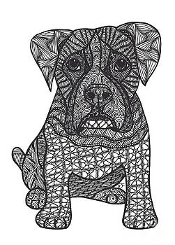 Loyalty- Boxer Dog by Dianne Ferrer