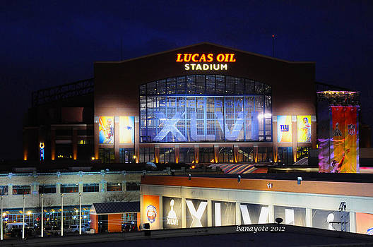 Lucas Oil Home of the Colts by Rob Banayote