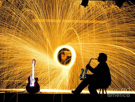 Agus Aldalur - Luces de saxofon