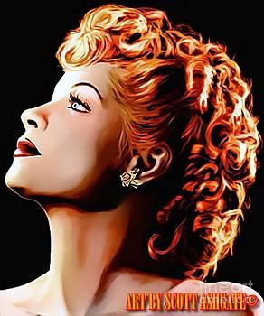 Lucille Bal by Scott Ashgate