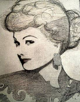 Lucille Ball by Patricia Brewer-Cummings