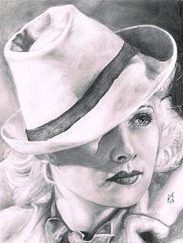 Lucille Ball by Ryan Jacobson