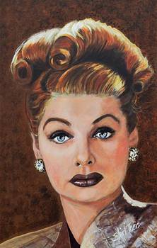 Lucille Ball by Shirl Theis