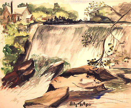 Art By Tolpo Collection - Ludington Michigan Spillway