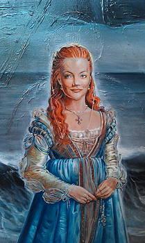 Lukrezia Borgia by Ottilia Zakany