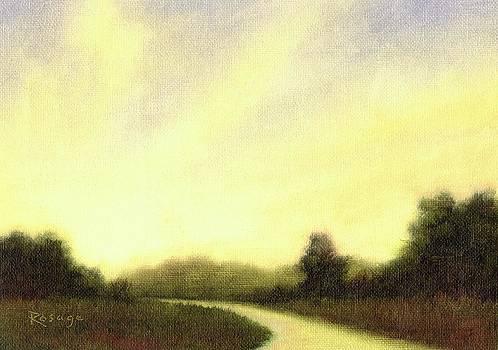 Luminous Road by Bernie Rosage Jr