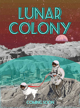 Lunar Colony Coming Soon Advertisement by