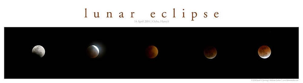 Lunar Eclipse by Kirsten Carlson