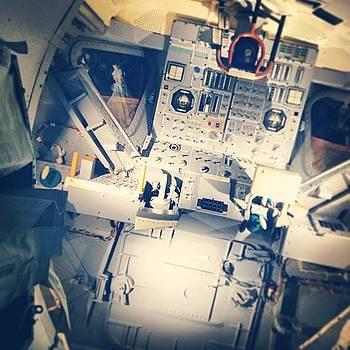 Lunar Lander Cockpit by Dean Sauls