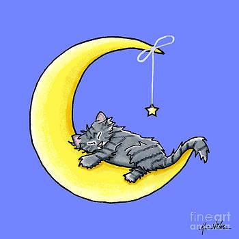 Lunar Love Gray Tabby by Kim Niles