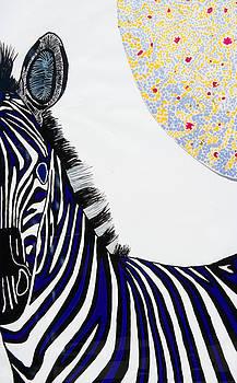 Lunar White Zebra by Patrick OLeary