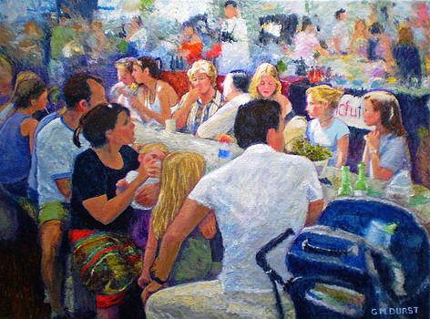 Michael Durst - Lunch at the O.B.M.