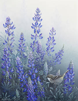 Lupine by Mike Stinnett