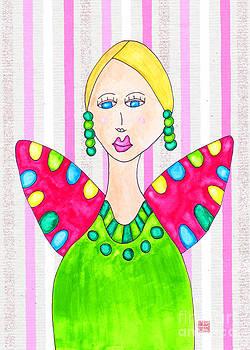 Lupita Portrait Ashley in a Green Dress 2 by Emily Lupita Studio