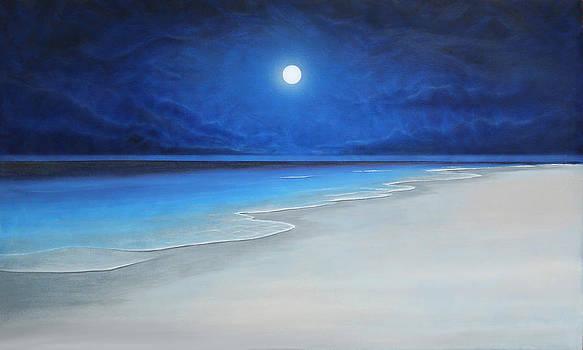Luz de luna by Angel Ortiz