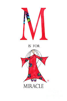 M is for Miracle by Emily Lupita Studio