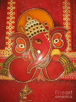 Rekha Artz - M-seal Ganesha