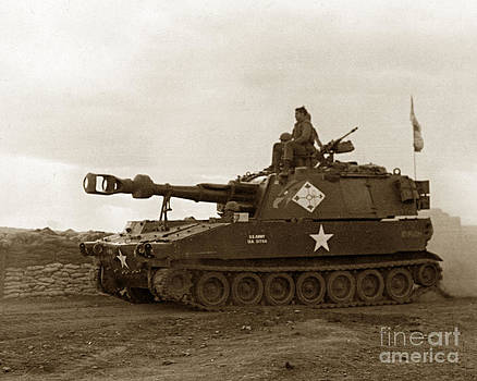 California Views Archives Mr Pat Hathaway Archives - M109 self-propelled 155mm Howitzer Vietnam 1968
