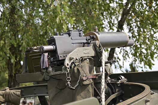Paul Mashburn - M1917 Browning Machine Gun