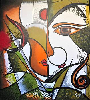 Ma Durga 1 by Kalpana Somalwar