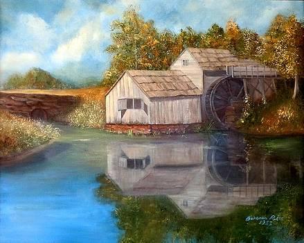 Mabry Mill by Barbara Pirkle