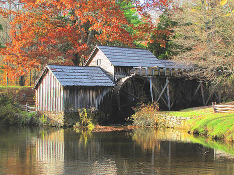Mabry Mill by Beckie Fitgerald